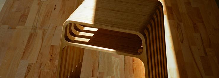 Der perfekte Holz Stapelhocker