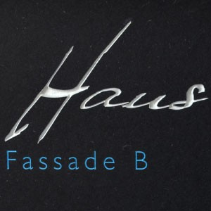 Haus, Fassade B routed out